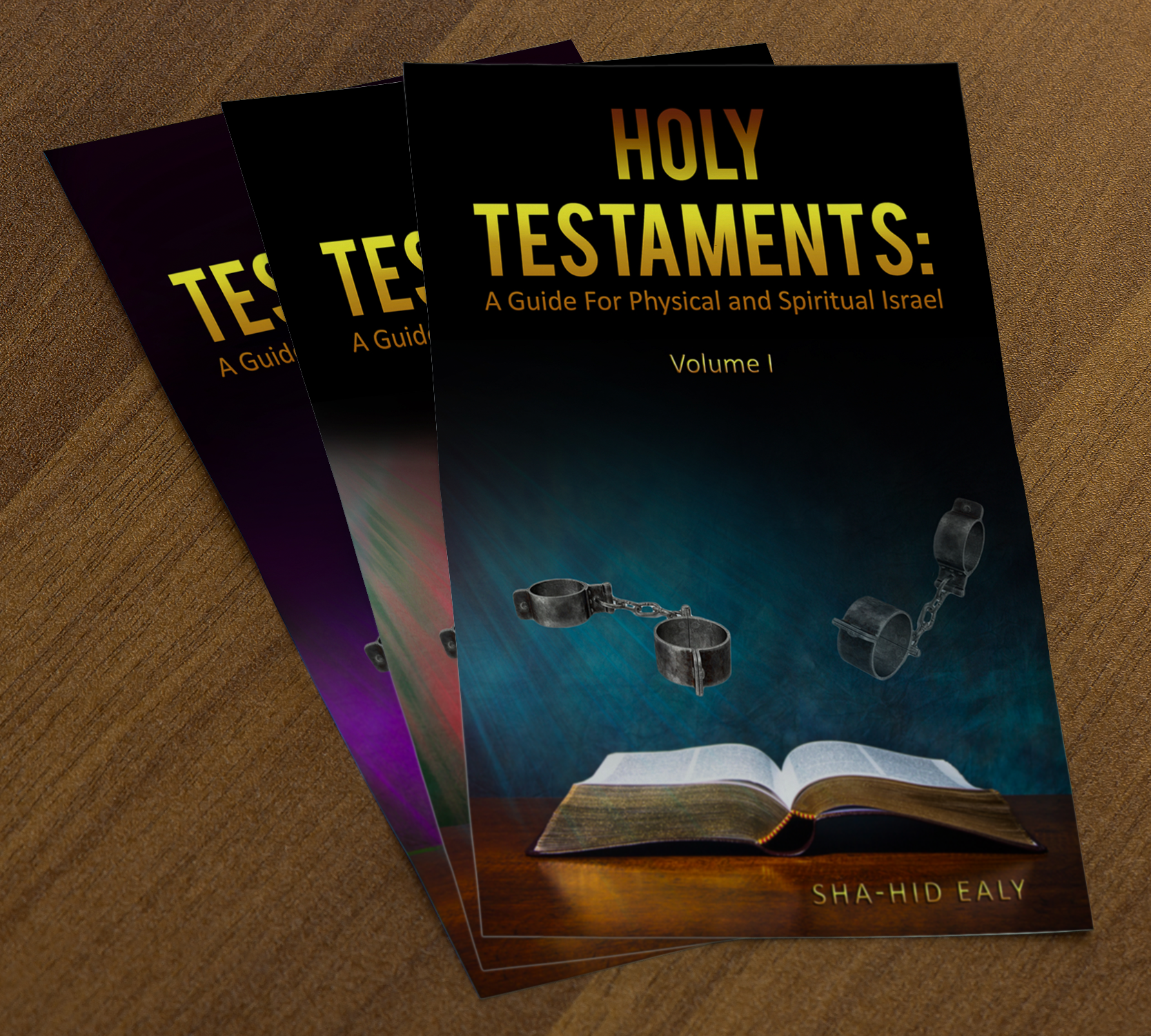 (BUNDLE) HOLY TESTAMENTS: A GUIDE FOR PHYSICAL AND SPIRITUAL ISRAEL VOL. I – III